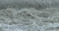 4K / HD Raging Flood Waters After Hurricane Stock Footage