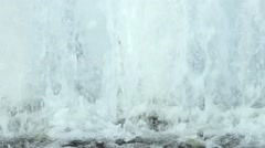 close up water fountain - stock footage
