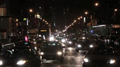8th ave traffic 3 - stock footage