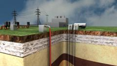 GEOTHERMAL ENERGY Stock Footage
