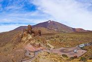 Volcano teide in tenerife island - canary Stock Photos