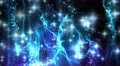 4K Abstract motion background, shining light, rays, particles, seamless loopable Footage