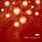 Abstract Valentine's Day background Stock Illustration