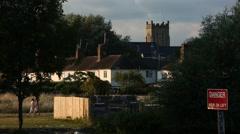 English Church Stock Footage