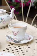 Afternoon tea Stock Photos