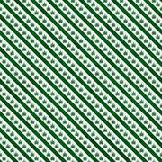 Green marijuana leaf and stripes pattern repeat background Stock Illustration