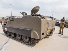 Military armored vehicle - stock photo