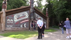 Totem Poles, time lapse Stock Footage