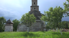 Densus church 4k Stock Footage