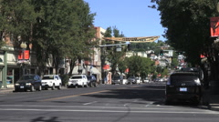 Oregon Pendleton street s Stock Footage