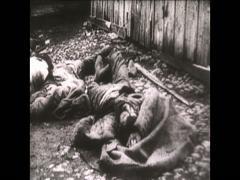 WW1 Ru Rioting Stock Footage