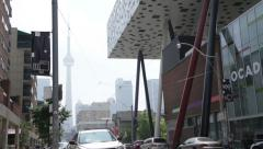 Exterior of the Ontario College of Art and Design Stock Footage