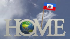Home in the land of HAITI Stock Footage