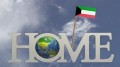 Stock Video Footage of Home in the land of KUWAIT