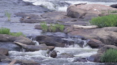 James River In Richmond, Virginia Stock Footage