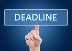 Deadline Stock Illustration