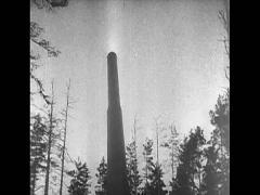 WW2-Russia-Artillary01-Fire01 Stock Footage