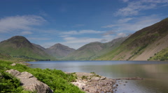 4k timelapse lake district cumbria england Stock Footage