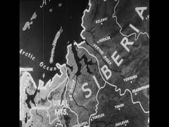 WW2 Map Animation Europe Stock Footage