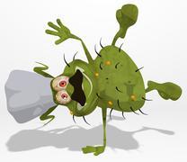 Fun germ Stock Illustration