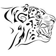Tiger. tattoo Piirros