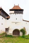 Viscri, saxon fortified church, transylvania, romania Stock Photos