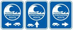 Tsunami evacuation vehicles Piirros