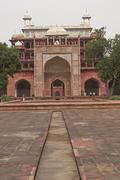 Last Resting Place of Akbar the Great Stock Photos