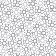 vector monochrome background of repeated elements - stock illustration