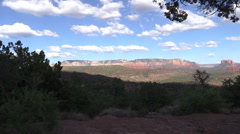Cathedral Rock Sedona Arizona Landscape Stock Footage