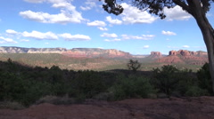 Cathedral Rock Sedona Arizona Stock Footage