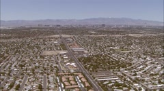 Stock Video Footage of Residential Suburbs Las Vegas Nevada