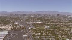 Asuin Suburbs Las Vegas Nevada Arkistovideo