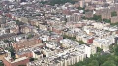 Harlem Manhattan Island New York Stock Footage