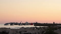 Adriatic marina - stock footage