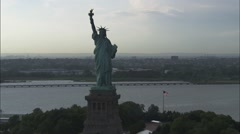 Stock Video Footage of Liberty Island Statue of Liberty