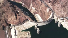 Stock Video Footage of Las Vegas Hoover Dam