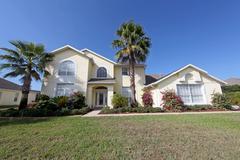 large florida home - stock photo