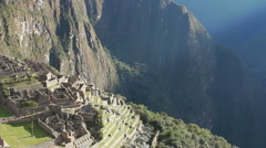 Machu Picchu Peru The Famous Ruins Of The Incas  Stock Footage
