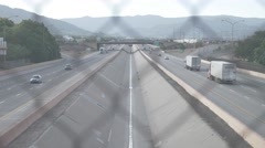 New Mexico Overpass Stock Footage