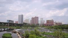 Downtown Richmond, Virginia Stock Footage