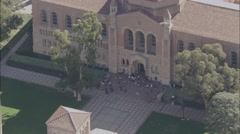 University Los Angeles Campus Stock Footage