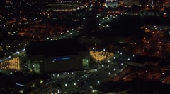Utah Delta Center Skyline Stock Footage