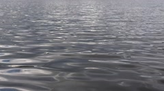 Water ripples on lake Nature Background Stock Footage