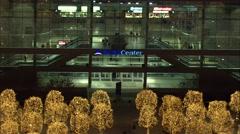 Delta Center Utah Nightlife Stock Footage