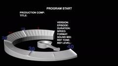 40 sec Vt Countdown Clock Stock Footage