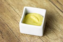 Mustard Sauce - stock photo
