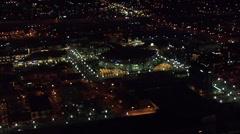 Utah Lights City Delta Center Stock Footage