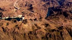 Desert Mountain River Stock Footage
