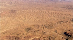 Desert Mountain Barren Stock Footage